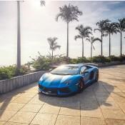DMC Aventador Blue 3 175x175 at Pictorial: Matte Blue DMC Lamborghini Aventador