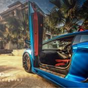 DMC Aventador Blue 4 175x175 at Pictorial: Matte Blue DMC Lamborghini Aventador