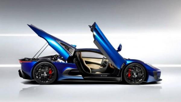 Jaguar C X75 1 600x338 at Jaguar C X75 Concept Resurfaces In Blue
