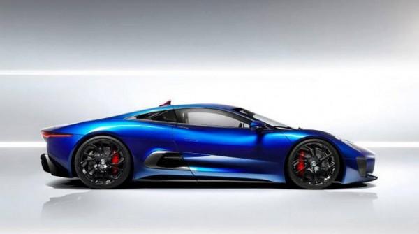 Jaguar C X75 3 600x335 at Jaguar C X75 Concept Resurfaces In Blue