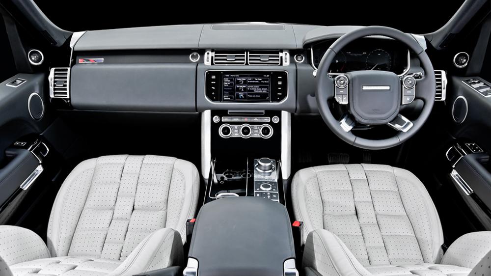 Blue Range Rover >> Kahn's New Interior Package For 2013 Range Rover Vogue