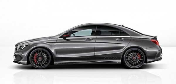 Mercedes CLA 45 AMG Edition 1 2 600x289 at Mercedes CLA 45 AMG Edition 1 Details