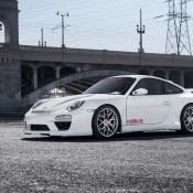 Porsche 997 Body Kit Misha Designs GTM2 white 911 Carrera 34 175x175 at Porsche 997 GTM2 Styling Kit by Misha Designs