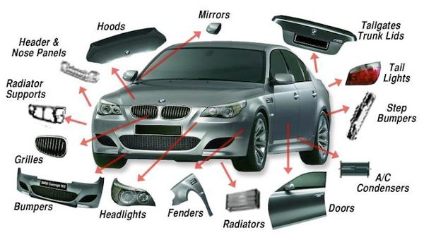 car parts at Popular Car Upgrades