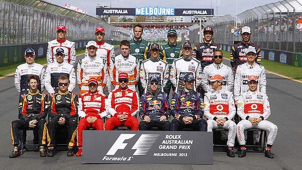 f1 australia GP lineup at Top 10 Countries With Most Formula One Drivers