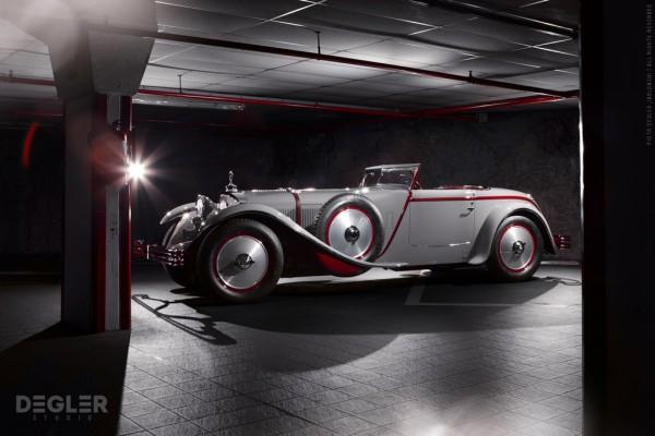 lr 1928 Mercedes Benz 680S 600x400 at Concorso d'Eleganza Villa d'Este 2013