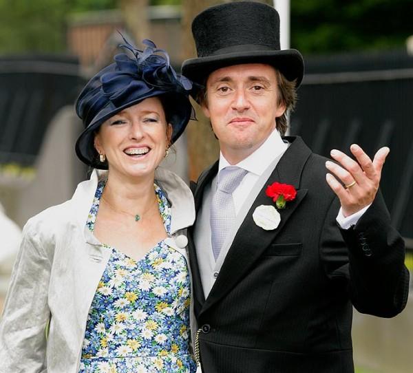 richard hammond wife 600x542 at Richard Hammond   Biography