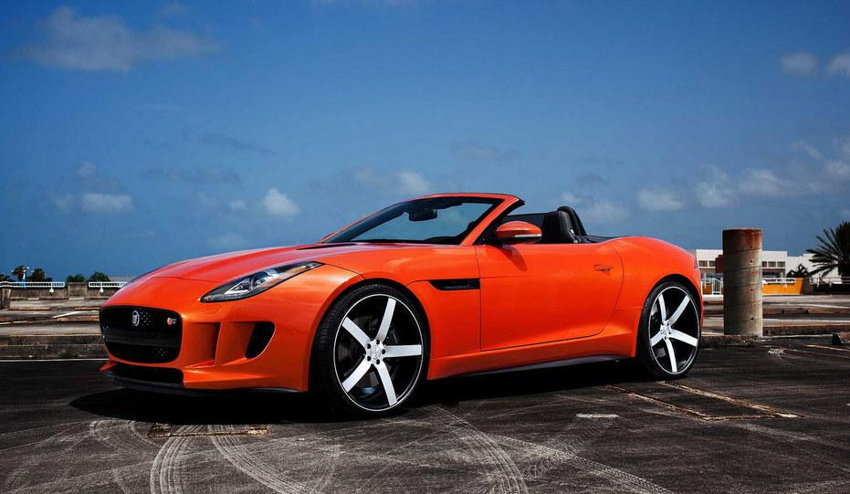 Jaguar F Type Looks Good On Vossen Wheels