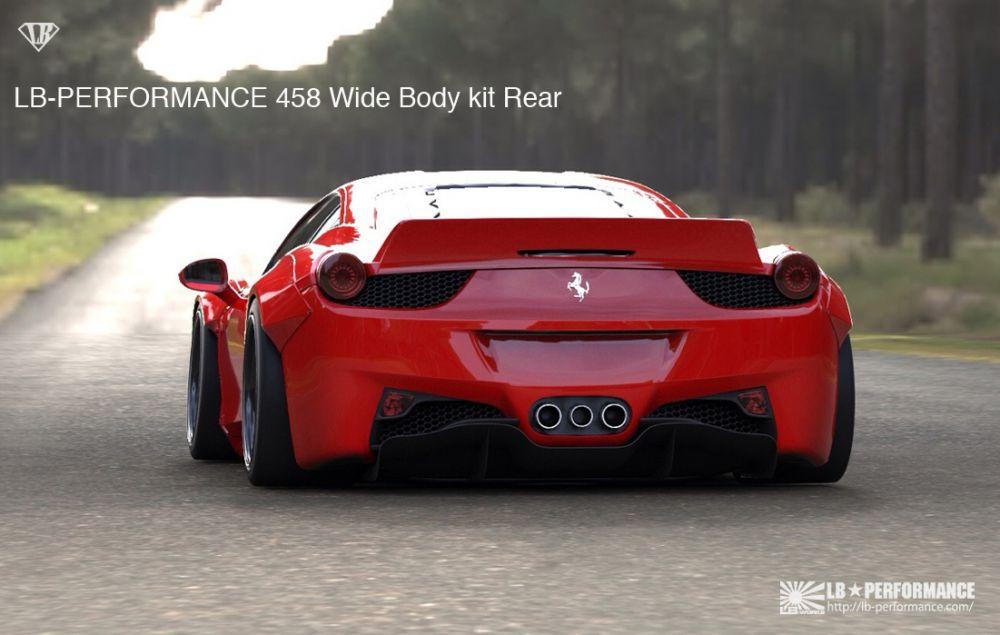 Lb Performance Ferrari 458 Italia Widebody