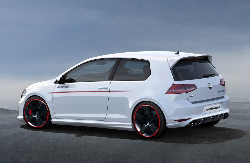 Mercedes Glc Coupe Tuning >> Oettinger Tuning Kit For Golf GTI Mk7