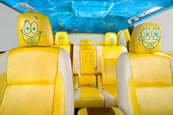 SpongeBob Themed Toyota Highlander 2 600x400 at SpongeBob Themed Toyota Highlander by Nickelodeon