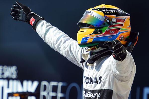 hungary1 at Hamilton Finally Wins In Hungary