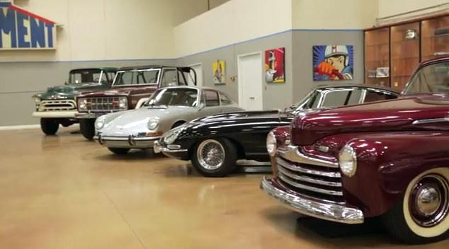 Tim Allen Cars >> Celebrity Car Collections Tim Allen S Private Garage