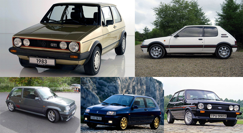 top 5 hot hatchbacks at Top 5 Hot Hatches Of All Time