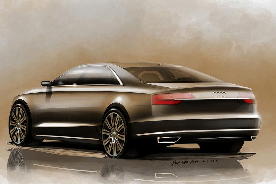 2014 Audi A8 Official Sketches Revealed