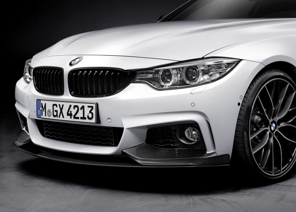 m performance parts for bmw 4 series detailed