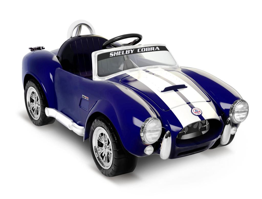 Lamborghini Electric Car For Kids >> Shelby Cobra 427 Roadster Kiddie Car Revealed