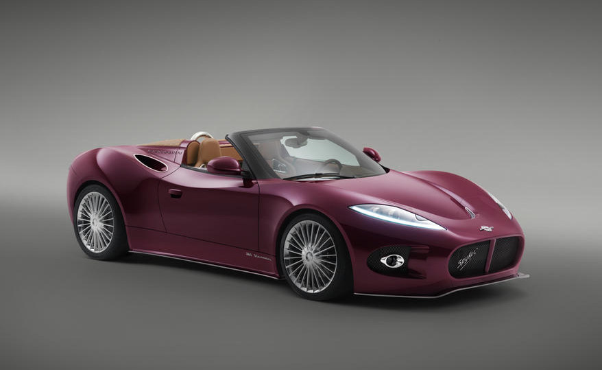 Spyker B6 Venator Spyder 1 at Pebble Beach: Spyker B6 Venator Spyder Unveiled