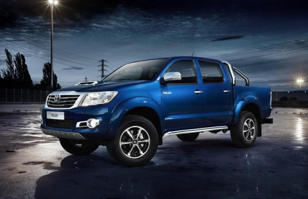 Toyota Hilux Invincible 1 600x388 at New Toyota Hilux Invincible Announced For Europe