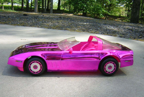 Ultra Vette at What's Barbie Driving? Barbies Cars History