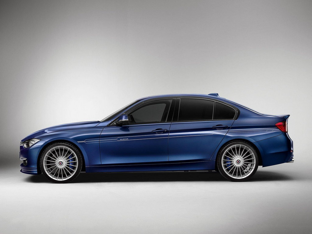 Diesel Powered Alpina D3 Set For Frankfurt Debut