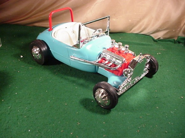 barbie 1962 hot rod 600x450 at What's Barbie Driving? Barbies Cars History