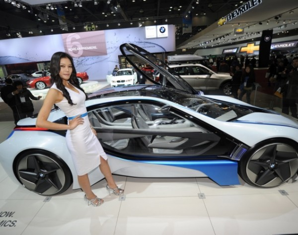 south korean model bmw electric car 600x472 at World's Craziest Concept Cars