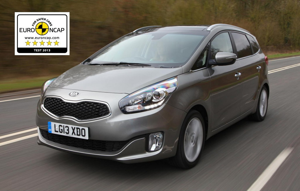 Five Star Euroncap Rating For 2014 Kia Carens