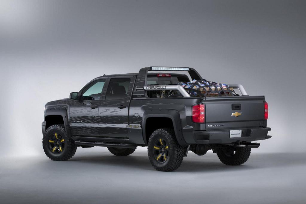 SEMA Preview: Chevrolet Silverado Black Ops Concept