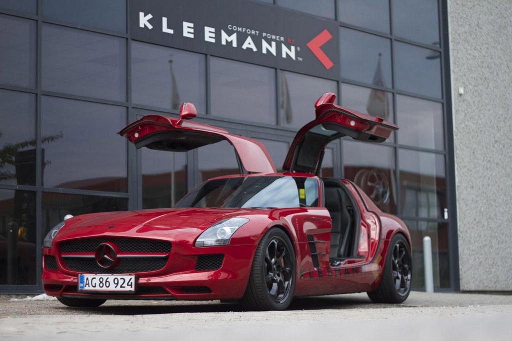 Kleemann Mercedes SLS AMG with 356 km/h Top Speed