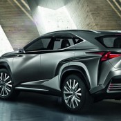 Lexus LF NX Crossover 4 175x175 at Lexus LF NX Crossover Concept Unveiled
