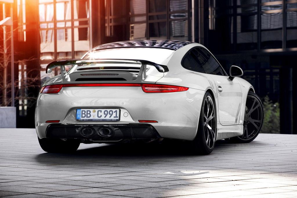 Porsche 991 Carrera 4 Tuned By Techart