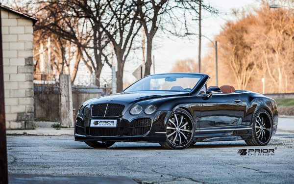 Prior Design Bentley Continental GTC 1 600x375 at Prior Design Bentley Continental GTC in Black