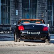 Prior Design Bentley Continental GTC 6 175x175 at Prior Design Bentley Continental GTC in Black