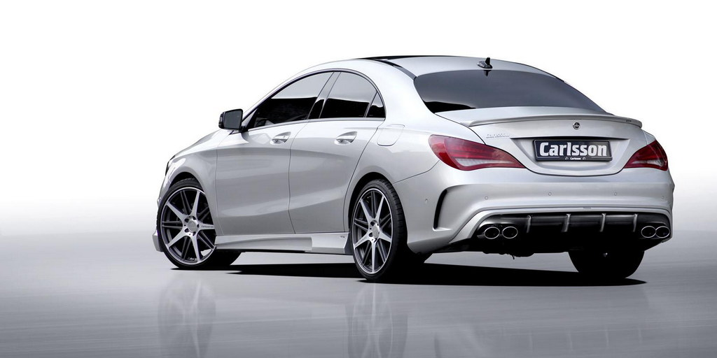 carlsson mercedes cla tuning kit revealed. Black Bedroom Furniture Sets. Home Design Ideas
