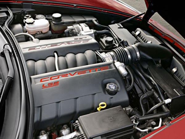 corvette C6 engine 600x450 at Corvette C5 vs C6