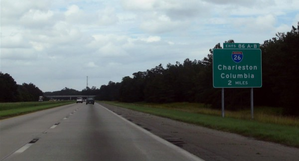 interstate 26 600x323 at The Top 10 Most Dangerous Roads To Drive In America