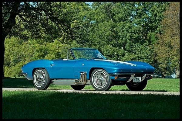 1963 Corvette Stingray 1 600x398 at 1963 Corvette Stingray Sells for $1.5 Million at Mecum Auction