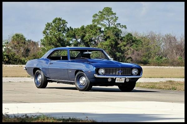 1969 Chevrolet Camaro ZL1 600x400 at 1963 Corvette Stingray Sells for $1.5 Million at Mecum Auction