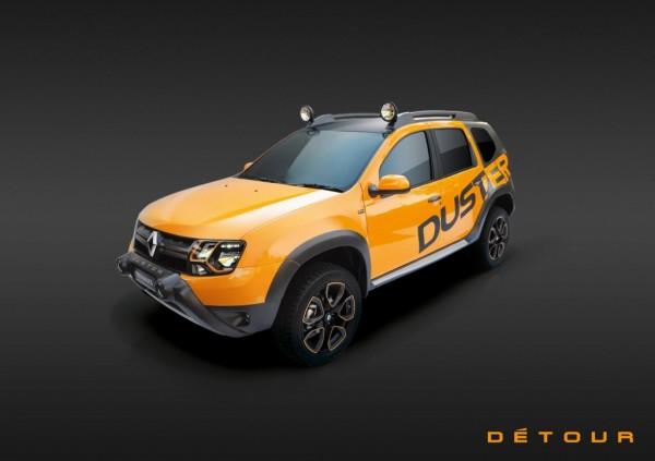 Dacia Duster Detour 1 600x423 at Dacia Duster Detour Concept Unveiled