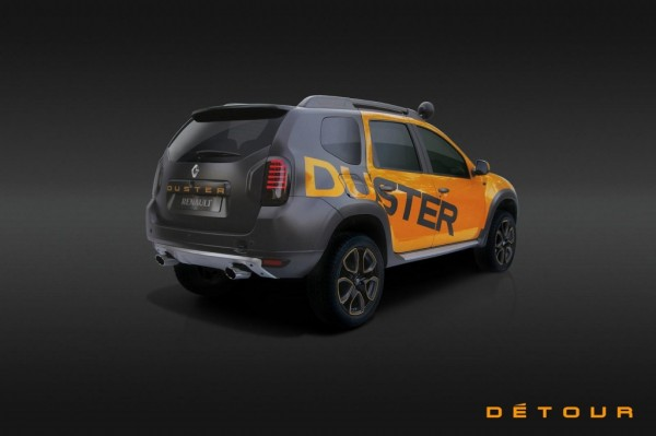 Dacia Duster Detour 2 600x399 at Dacia Duster Detour Concept Unveiled