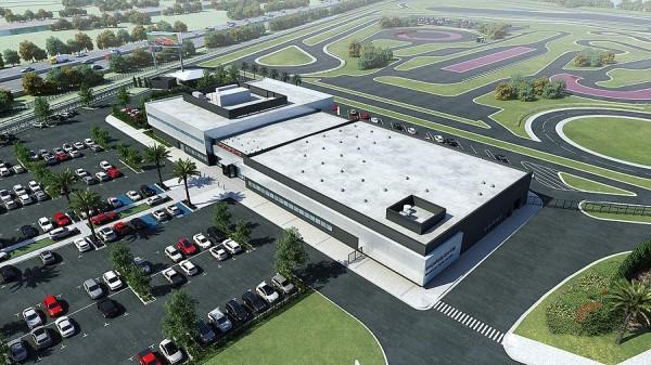 Porsche Los Angeles Experience Center 1 600x337 at Porsche Los Angeles Experience Center to Open in 2014
