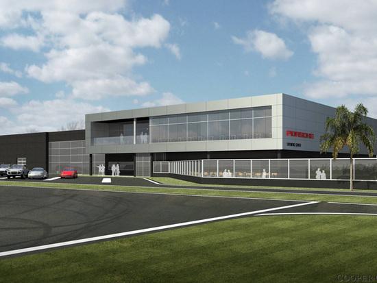Porsche Los Angeles Experience Center 2 at Porsche Los Angeles Experience Center to Open in 2014