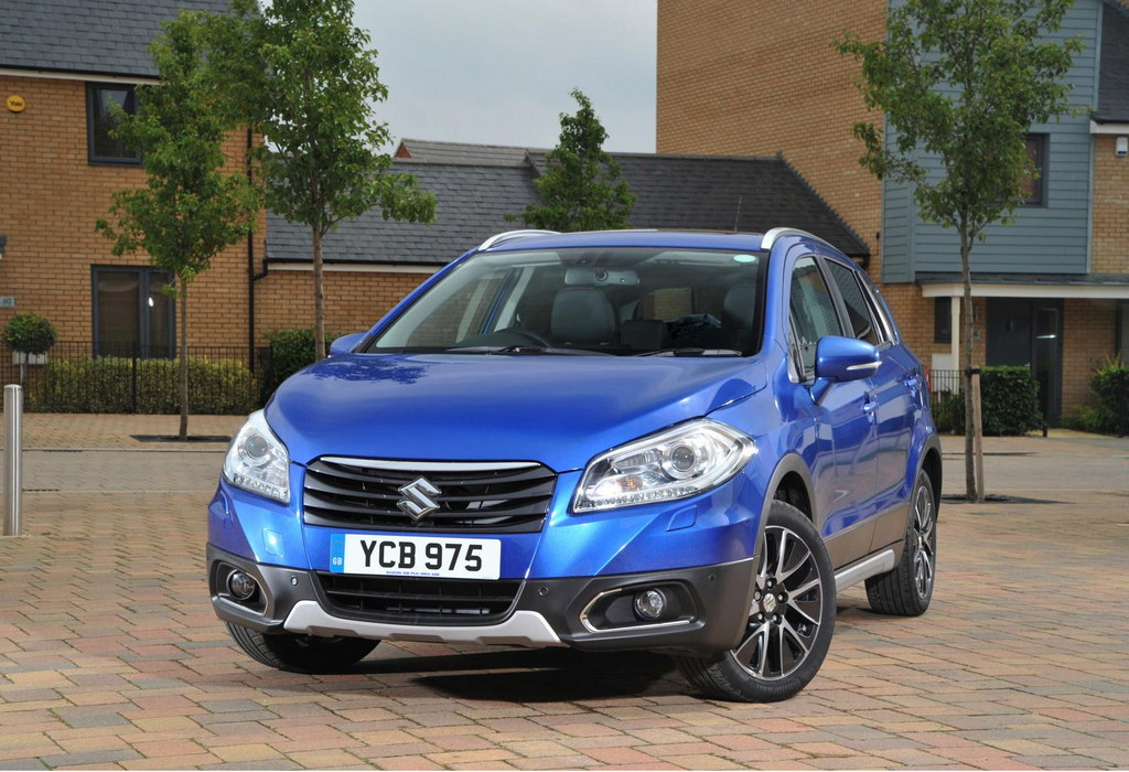 SX4 S Cross at Suzuki SX4 S Cross Gets 5 Star EuroNCAP Safety Rating