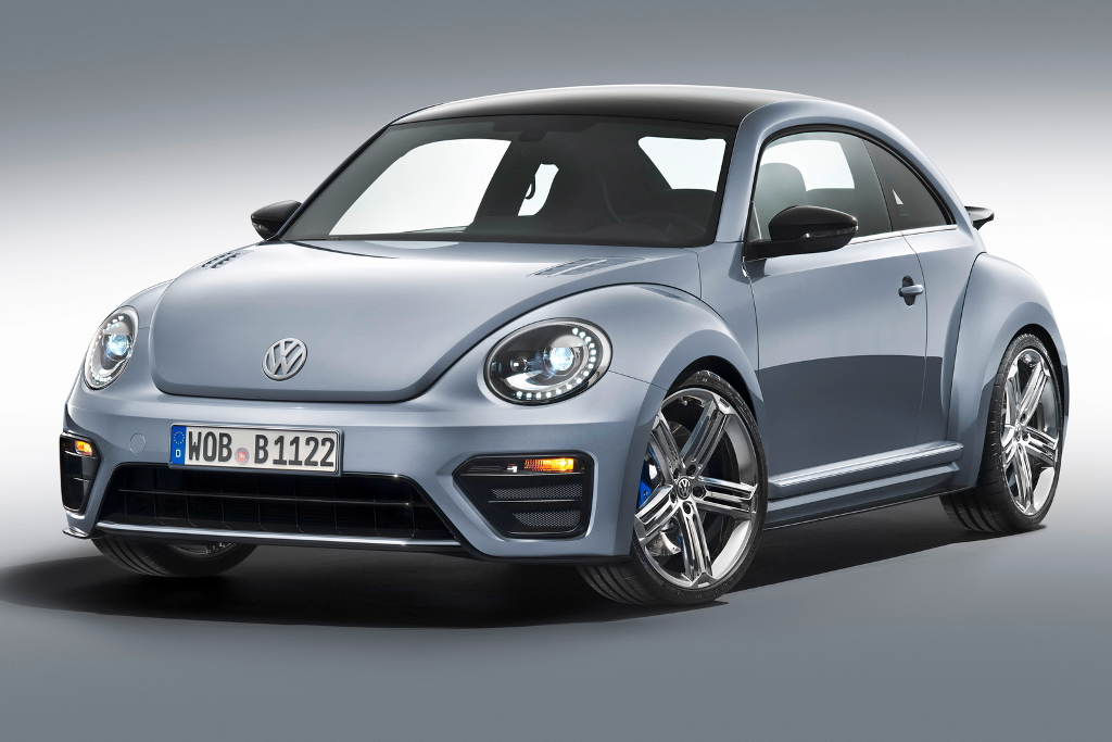 VW BEETLE R at Is the New Beetle R a Poor Mans Porsche?