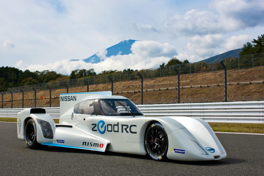 Nissan Zeod Rc Makes Track Debut At Fuji Speedway