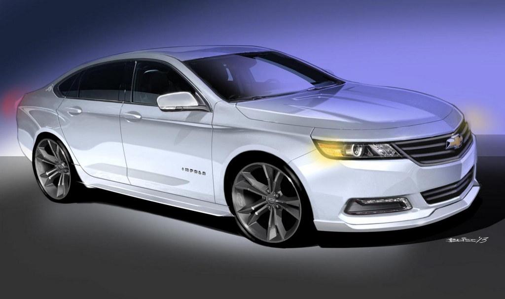 Custom Chevrolet Sedans For 2013 Sema