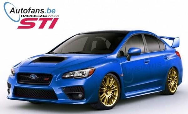 2015 subaru wrx sti render 600x364 at Rendering: 2015 Subaru WRX STI