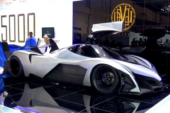 Devel Sixteen 5000 Horsepower V16 Hyper Car From Dubai