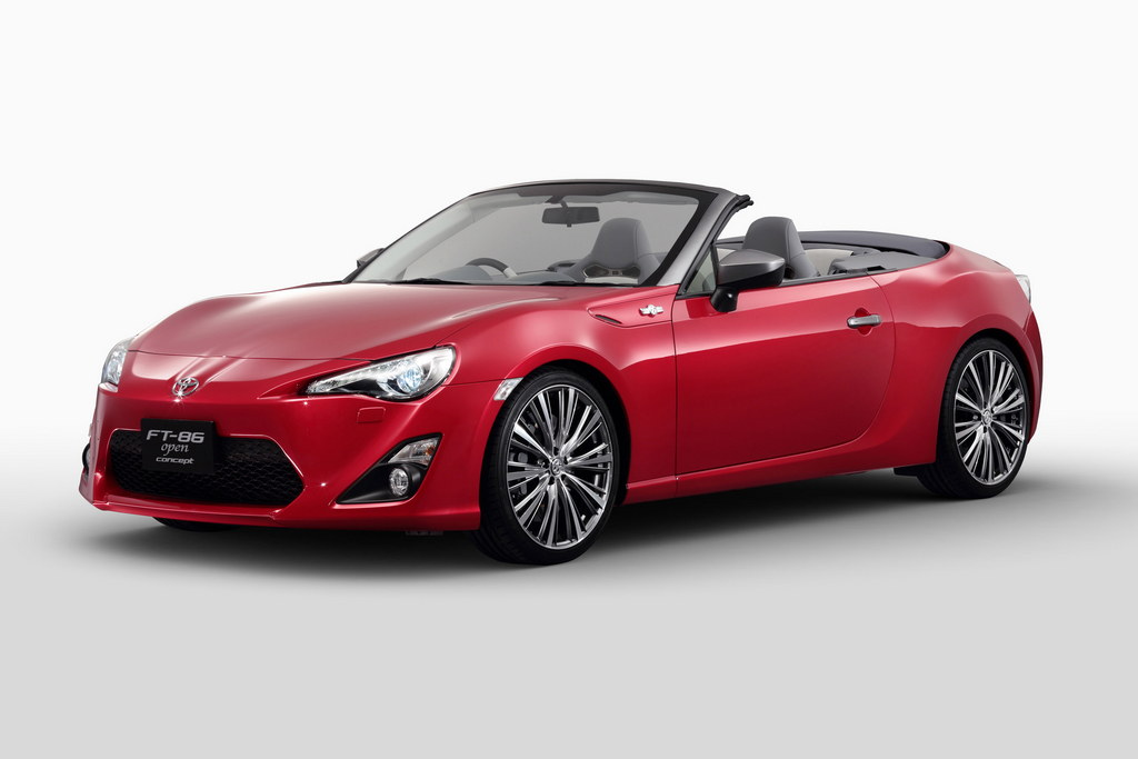 Toyota Gt86 Cabrio Shows Up In Red
